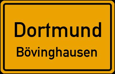 Straßenverzeichnis Dortmund Bövinghausen