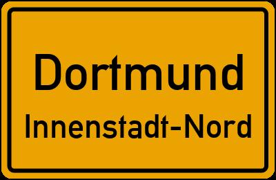 Straßenverzeichnis Dortmund Innenstadt-Nord