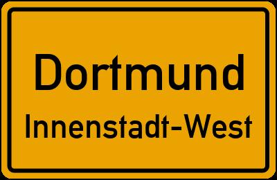 Planetenfeldstraße in DortmundInnenstadt-West
