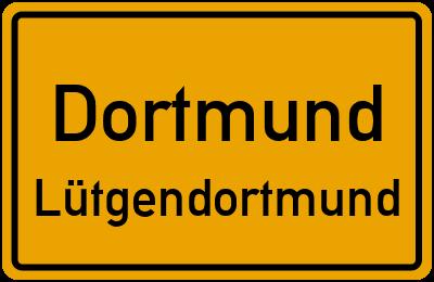 Ernst-Abbe-Straße in DortmundLütgendortmund