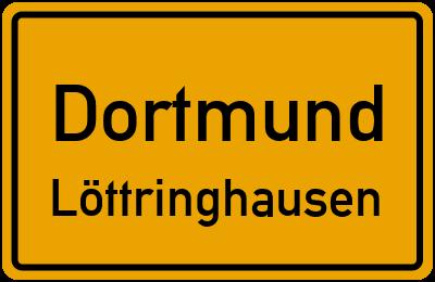 Straßenverzeichnis Dortmund Löttringhausen