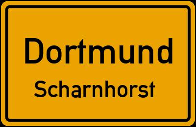 Straßenverzeichnis Dortmund Scharnhorst