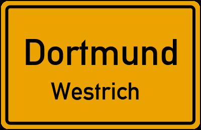 Straßenverzeichnis Dortmund Westrich