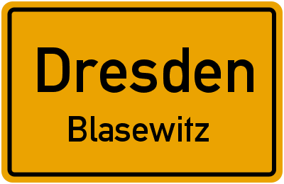 Eilenburger Straße in DresdenBlasewitz