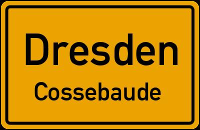 Dresdner Straße in DresdenCossebaude