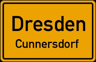 Straßenverzeichnis Dresden Cunnersdorf