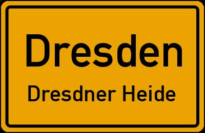Straßenverzeichnis Dresden Dresdner Heide