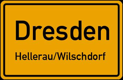Straßenverzeichnis Dresden Hellerau/Wilschdorf