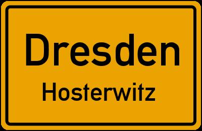 Straßenverzeichnis Dresden Hosterwitz