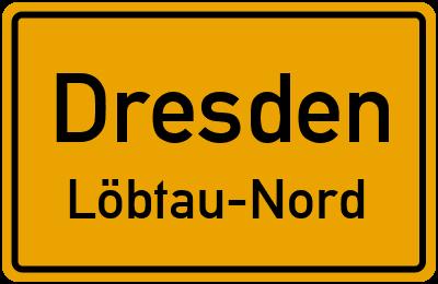 Straßenverzeichnis Dresden Löbtau-Nord