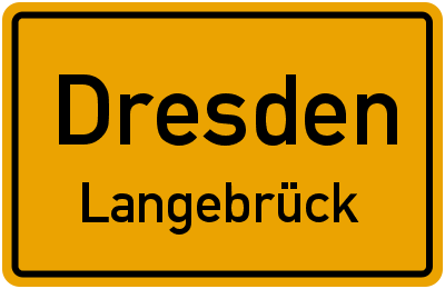 Straßenverzeichnis Dresden Langebrück