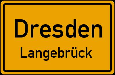 Kiefernweg in DresdenLangebrück