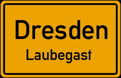Straßenverzeichnis Dresden Laubegast