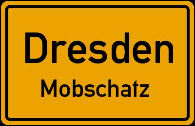 Ortsschild Dresden Mobschatz