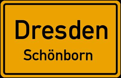 Seifersdorfer Straße in DresdenSchönborn