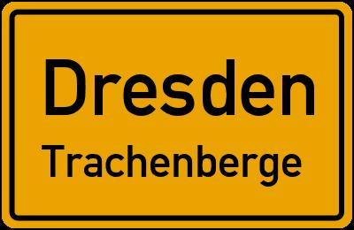 Ortsschild Dresden Trachenberge