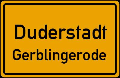 Duderstadt Gerblingerode