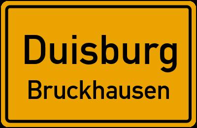 Straßenverzeichnis Duisburg Bruckhausen