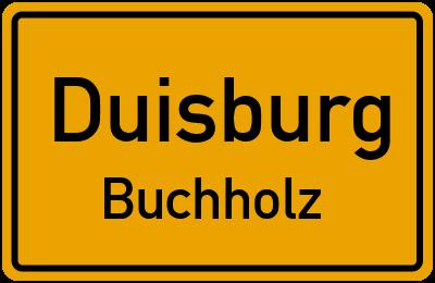 Straßenverzeichnis Duisburg Buchholz