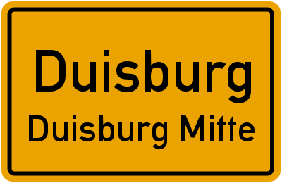 Paul-Rücker-Straße in DuisburgDuisburg Mitte