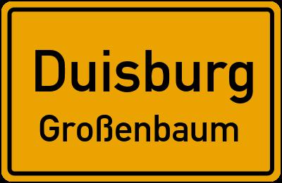 Straßenverzeichnis Duisburg Großenbaum