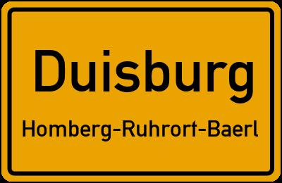 Amselweg in DuisburgHomberg-Ruhrort-Baerl
