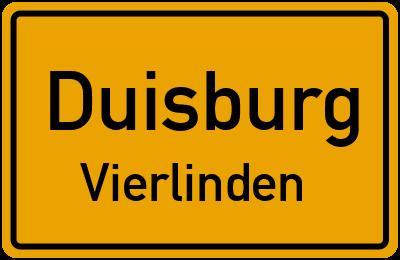 Straßenverzeichnis Duisburg Vierlinden