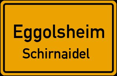 Ortsschild Eggolsheim Schirnaidel