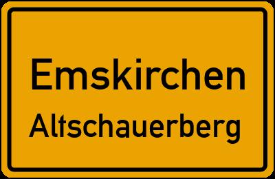 Ortsschild Emskirchen Altschauerberg