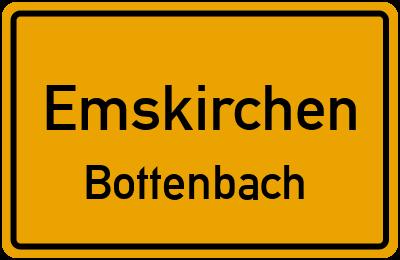 Ortsschild Emskirchen Bottenbach