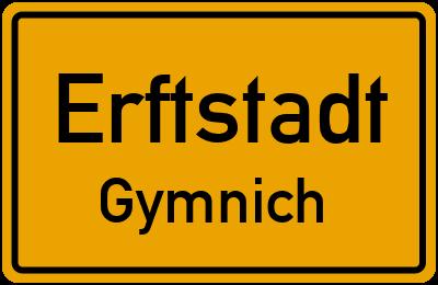 Ortsschild Erftstadt Gymnich