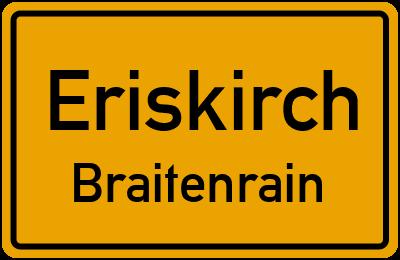 Ortsschild Eriskirch Braitenrain