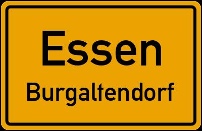 Straßenverzeichnis Essen Burgaltendorf