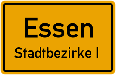Vollmerstraße in EssenStadtbezirke I