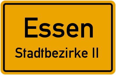 Messeallee in EssenStadtbezirke II