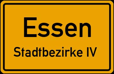 Marktstraße in EssenStadtbezirke IV