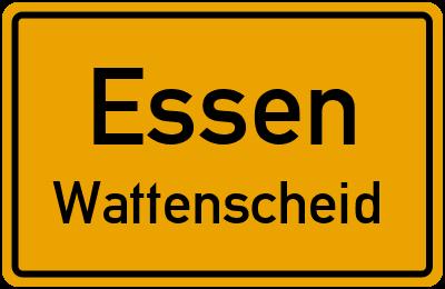 Straßenverzeichnis Essen Wattenscheid