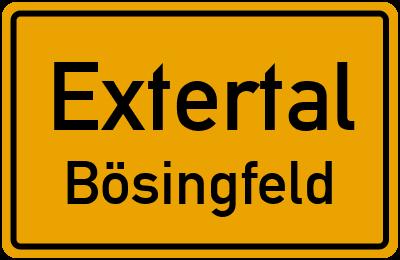 Amselweg in ExtertalBösingfeld