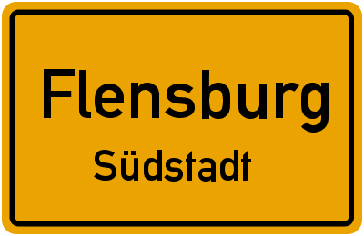 Marie-Curie-Ring in FlensburgSüdstadt