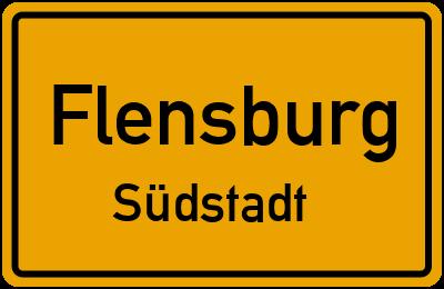 Max-Planck-Straße in FlensburgSüdstadt