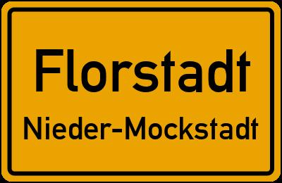 Straßenverzeichnis Florstadt Nieder-Mockstadt