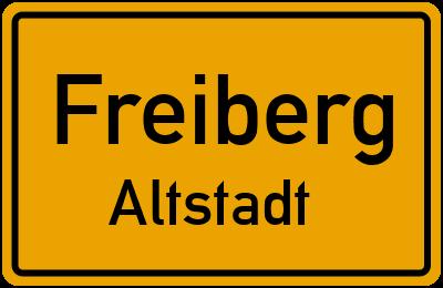 Wernerplatz in FreibergAltstadt