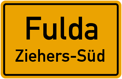 Fulda Ziehers-Süd