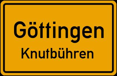 Straßenverzeichnis Göttingen Knutbühren