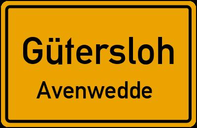 Amselweg in GüterslohAvenwedde