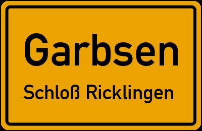 Amselweg in GarbsenSchloß Ricklingen