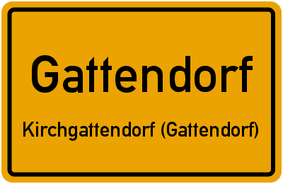 Kirchberg in GattendorfKirchgattendorf (Gattendorf)