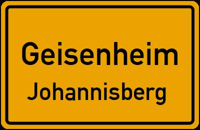 Straßenverzeichnis Geisenheim Johannisberg
