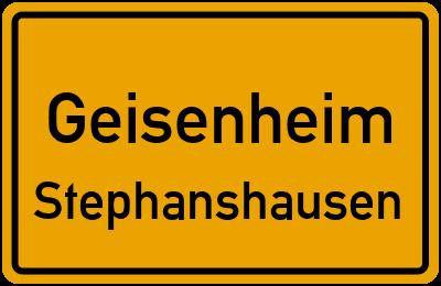 Straßenverzeichnis Geisenheim Stephanshausen