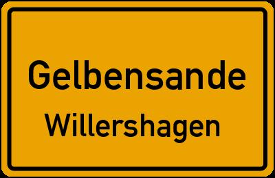Amselweg in GelbensandeWillershagen